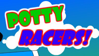 Potty Racers is rather amusing, letting you experience a fast ride through a beautiful beach or the cityscape in an outdoor toilet.