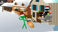 Causality Stickmas is a Holiday-themed entry in the popular point-and-click puzzle game series.
