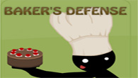 You play as a Baker and evil thieves are trying to steal your masterpiece cake, what to do? Defend it at all costs by beating them to a pulp.