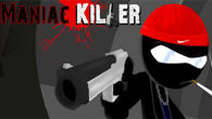 Maniac Killer is an action packed stick man game that puts you in the role of a gun-wielding psycho.