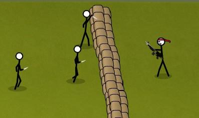 Stickman Hold The Line